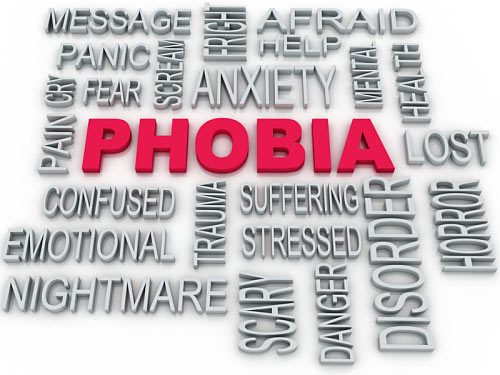 Fears and Phobia full list